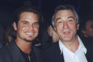 Dana Kamide and Robert De Niro