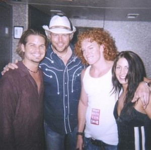 Dana Kamide Photo with Toby Keith and Carrot Top
